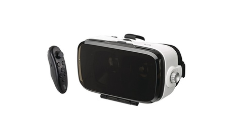 Virtual Reality Goggles With Bluetooth Remote 45dcffe3-eec0-4c48-af16-b5042450c905