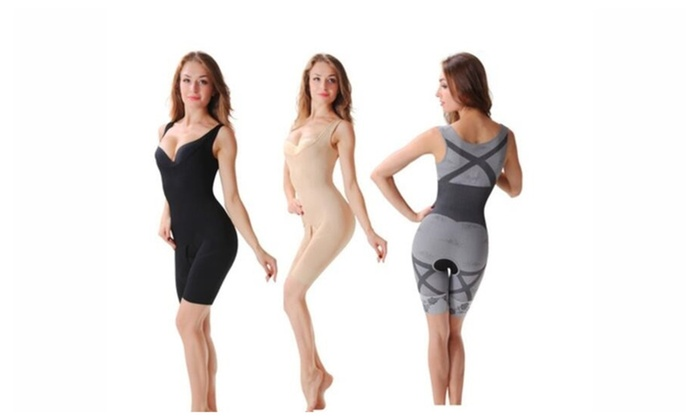 Fashion Ladies Lose Weight Bamboo Bust Forming Corset Body Tights