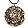 Metal Pendant Coin Necklace for Unisex