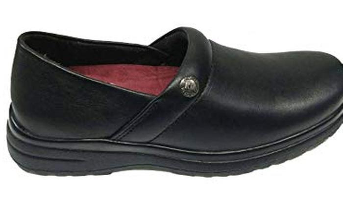 Km Slip Resistant Chef Shoes Black Non Slip Kitchen Work