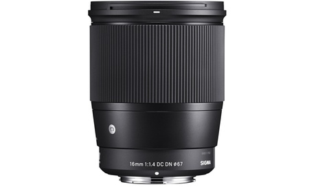Sigma 16mm f/1.4 DC DN Contemporary Lens for Sony photo