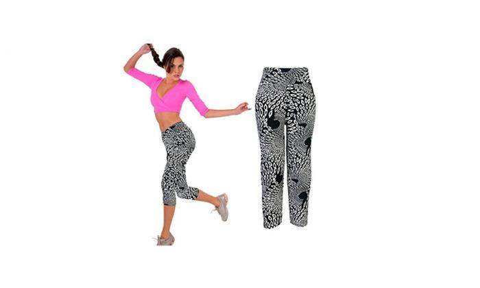 Women's High Waist Fitness Exercise Yoga Sport Pants