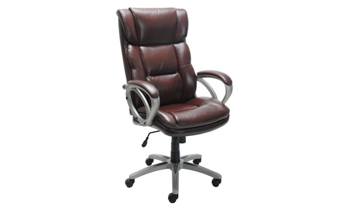Broyhill Bonded Leather Executive Chair | Groupon on yellow office chair, sunny designs office chair, powell office chair, racing office chair, drexel office chair, antique office chair, pastel furniture office chair, retro office chair, ashley office chair, american office chair, contemporary ergonomic office chair, boraam office chair, folding office chair, barcalounger office chair, hillsdale office chair, champion office chair, serta office chair, uttermost office chair, flexsteel office chair, black office chair,