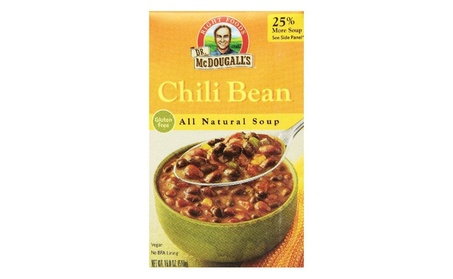 Dr. Mcdougall's Right Foods Soup, Chili Bean, 18 Ounce (Pack of 6) 9d1b5591-3f88-40e2-b7ca-77154b45404d