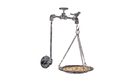 Garden Spigot 6¼ Inch Wide Seed tray Bird Feeder (Goods For The Home Patio & Garden Bird Feeders & Food) photo