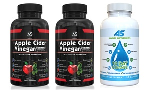 Angry Supplements Apple Cider Vinegar with 10-Day Cleanse (2-Pack)