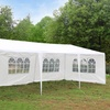3x9m Five Sides Waterproof Foldable Tent White
