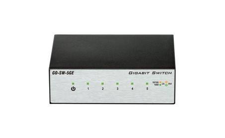 D-Link GO-SW-5GE 5 Port Gig Desktop Switch photo
