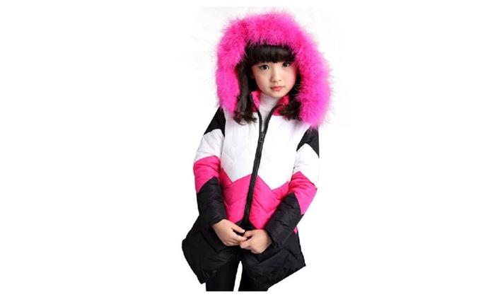 af4efed32 2017 Winter Jacket For Girls Coat Children Outerwear Coat Kids