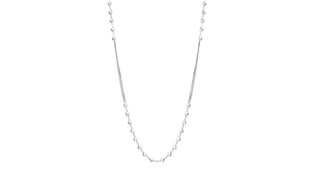 Sterling Silver Beaded Multistranded Cable Chain Necklace fb0cfdb2-2225-4b24-a2dc-840e6f0e516f