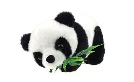 Lovely Cartoon Panda With Bamboo Soft Stuffed Animal Kids Toy 5aa76ea3-1cdc-432f-9e29-2e7cc2937e7e