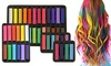 Washable and Temporary Hair Color Chalk (4, 6, 12, 24 Pack)