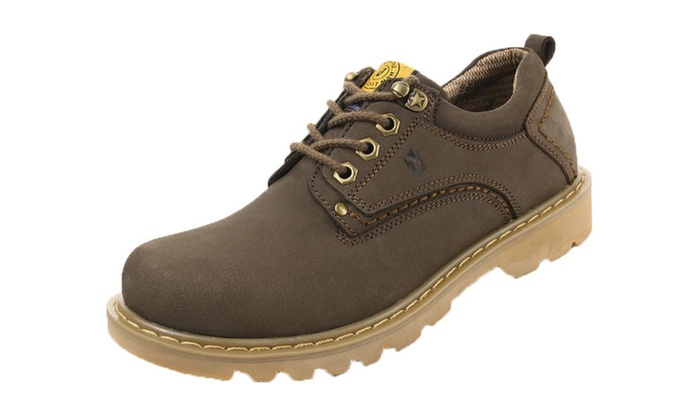 Men's Round Toe Lace Up Oxford Shoes