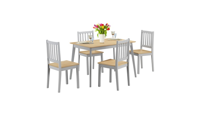 Up To 50 Off On 5 Pcs Mid Century Modern Dini Groupon Goods