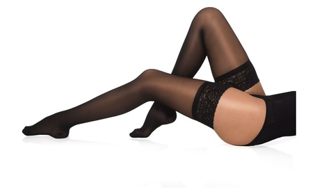 Sheer Compression Thigh High Elegant Support Stockings 18-22 mmHg 15df4364-bcd5-4bd4-8b40-f30a46135e20