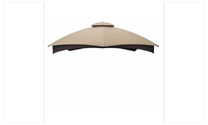 Allen Roth Gazebo Beige Replacement Canopy Top