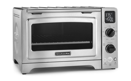 KitchenAid Stainless Steel Digital Countertop Oven (Certified Refurb) photo