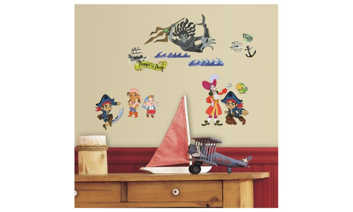 Roommates Decor Captain Jake And The Never Land Pirates Wall ...