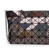 Diamond Lattice Fold Over Chain Shoulder Bag for Women