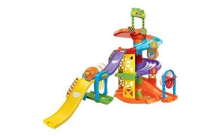 VTech Go! Go! Smart Wheels Spinning Spiral Tower Playset c70a6cce-5ba7-4af0-a679-7b3665b1aecd