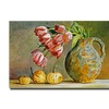 David Lloyd Glover Soft Tulips in the Pottery Canvas Print