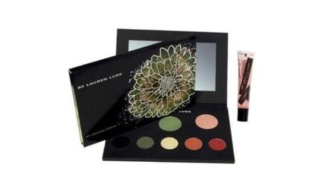 MY LUSCIOUS GREENS Lauren Luke Complete Makeup Palette Eyes Cheeks Lips 11.4 oz. 4b02f31f-2c2a-46a4-b86f-cda3e49dc173