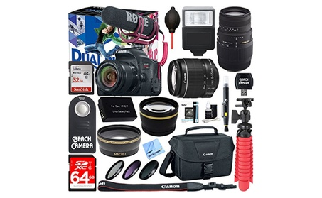 Canon EOS Rebel T7i Digital SLR Camera Video Creator Kit + EF-S 18-55m 8d161ae5-ab07-4948-8330-58ae61abbef5