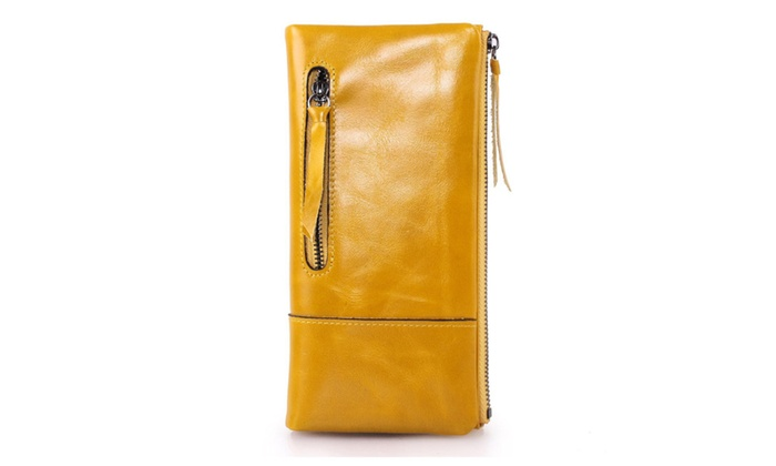 Women's Soft Genuine Leather Wallet