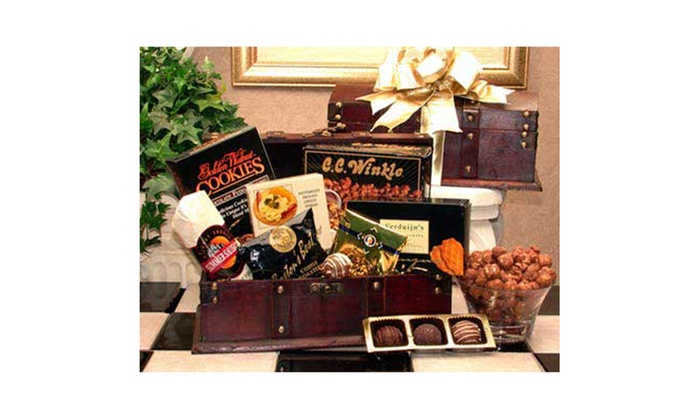 Gift Basket Dropshipping Gourmet Desk Caddy Medium