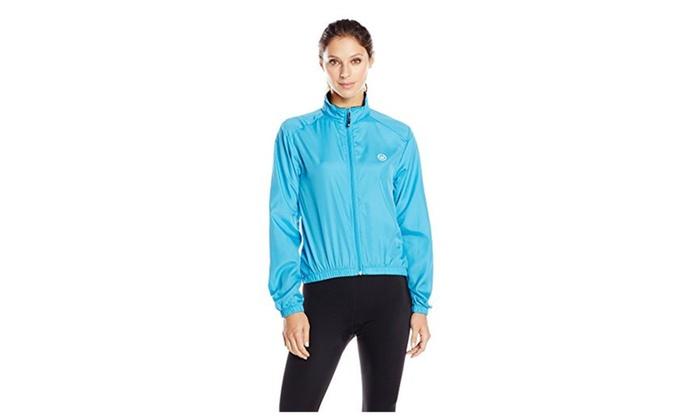 Canari Cyclewear Women's Microlyte Shell Jacket  – Fiji Blue / Small