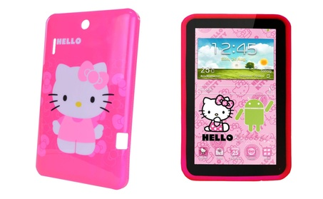 Touchscreen Tablet Android With Shock Proof Case Games Kids Fun