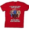 Costee        Theory Cast We'D All Have A Merry Christmas Adult TShirt