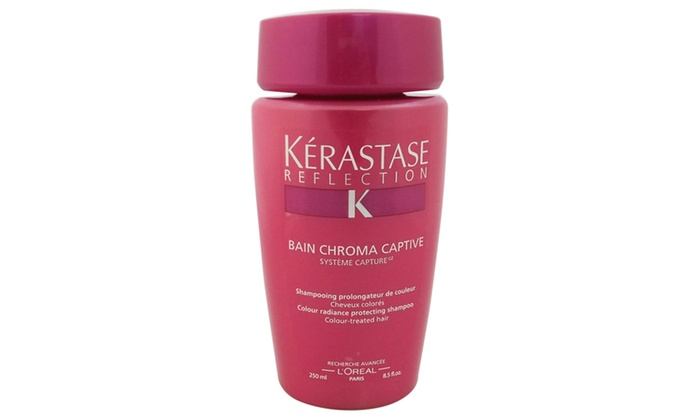 Kerastase reflection bain chroma captive shampoo shampoo for Kerastase reflection bain miroir 1 shine revealing shampoo