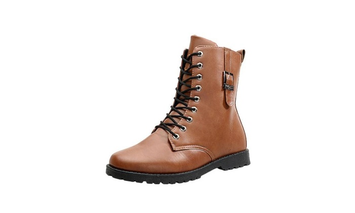 Men's Lace Up Insulation Fashion Winter Boots