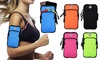 Sport Running Armband Case for Cell Phones Reflective Band with Key Holder