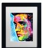 Dean Russo 'Elvis Presley' Matted Framed Art