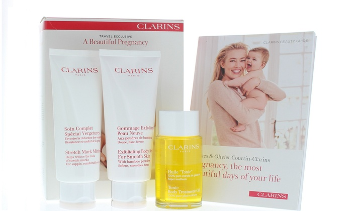 Clarins Travel Exclusive A Beautiful Pregnancy Kit