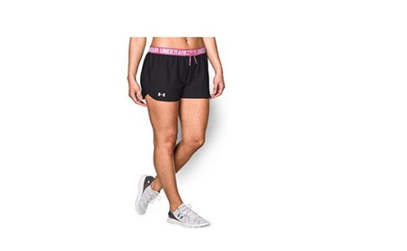 Under Armour Women's UA Play Up Shorts Small Black 6a33bfe6-22f3-4f37-b98b-9f80775cb395