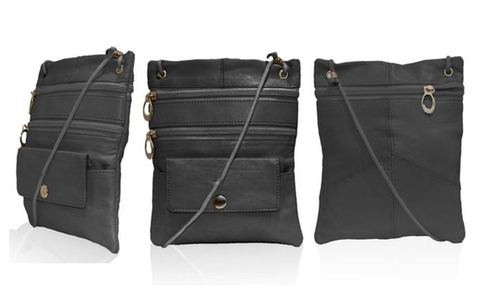 Soft Leather Trendy Crossbody Bag
