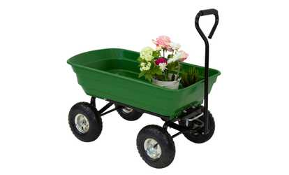 Attirant Shop Groupon 600LBS Garden Tools Dump Cart Dumper Wagon Carrier Wheel Barrow