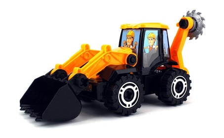 Handy Man Take Apart Construction Bulldozer Children's Kid's Toy Truck 302964b9-4465-4042-aab1-bb5605006480