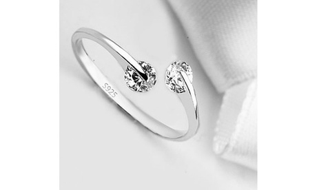 Match Made in Heaven Sterling Silver Ring