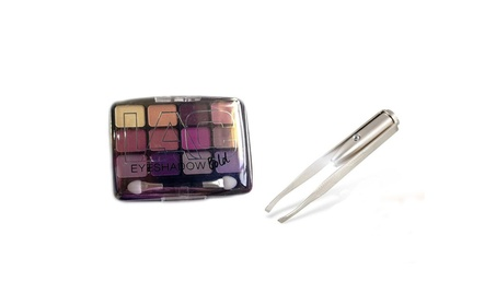 Newest 12 Colors Eyeshadow Palette With Free Eyebrow Hair Removal 74a6da6e-1823-4369-911c-1bc48fe66167