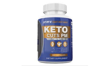 Keto Cuts PM, Burn Fat Instead of Carbs Ketogenic, Sleep Formula