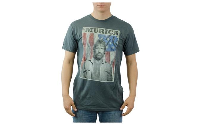 234ffd8ece8d28  Murica Chuck Norris Shirt - S