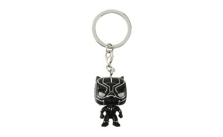 Funko Pocket POP Keychain Marvel Civil War: Black Panther Bobble Head cd087a48-c0e2-4811-a28f-58a67f96efab
