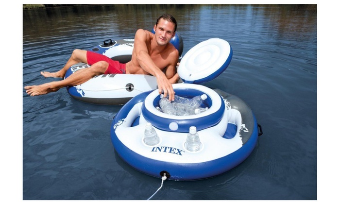 Mega Chill Inflatable Floating Beverage Cooler