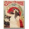 Bitter Oriental Canvas Print