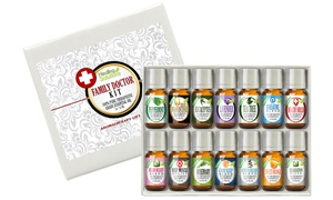 Family Doctor Pure Essential Oils Set (14-Piece)