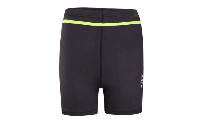 30276ca7161b6 Scodi Mens Solid Splice Square Leg Jammer Swimsuit Swimwear | Groupon